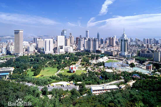Dalian, Liaoning Province, one of the 'top 10 romantic Chinese cities'by China.org.cn.