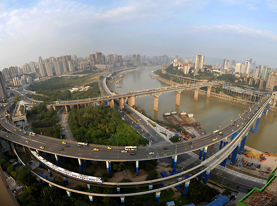 Chongqing, one of the 'top 10 romantic Chinese cities'by China.org.cn.