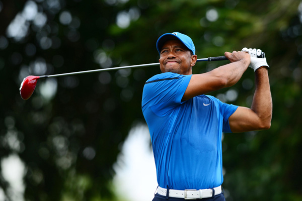 Tiger limping on road to Augusta