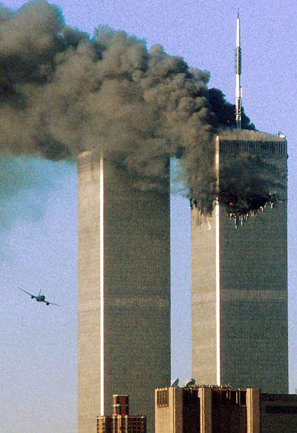 September 11 attacks, 2001, one of the 'top 10 most terrifying aircraft hijackings' by China.org.cn.