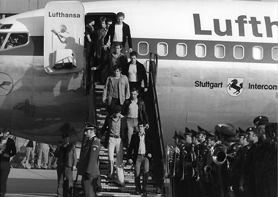 Hijacking of Lufthansa Flight 181, 1977, one of the 'top 10 most terrifying aircraft hijackings' by China.org.cn.