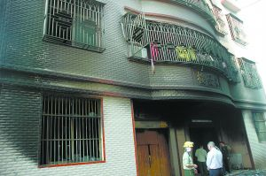 11 killed in guangzhou clothing workshop fire.[Internet photo]