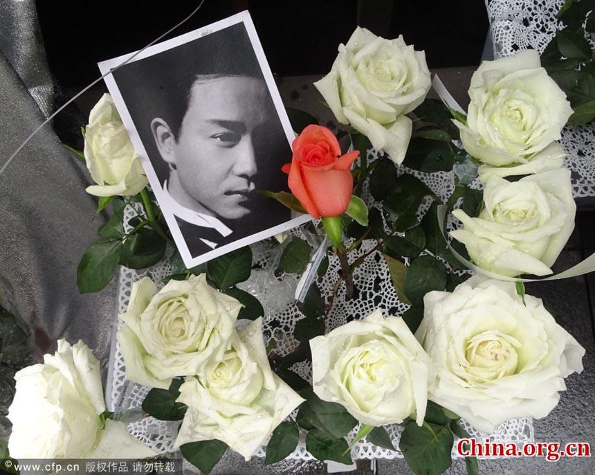 2014年4月1日张国荣_粉丝纪念张国荣逝世11周年 - China.org.cn