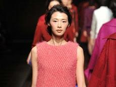Knitwear and eco designs at China Fashion Week