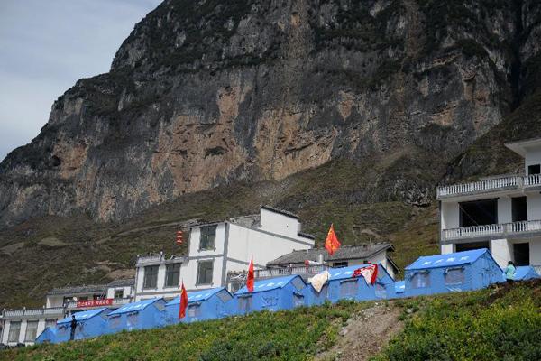 云南永善5.3级地震波及云南9县1区,截至6日17时已造成永善县12个图片