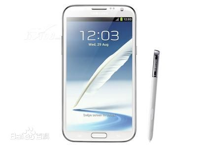 Samsung Galaxy Note II, one of the 'top 10 smartphones with best cameras' by China.org.cn.