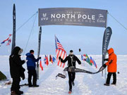 World's coldest and hardest marathon held in Geographic North Pole