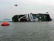 2 dead, 290 missing as ship sinks off S. Korea coast