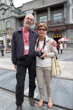 Richard and Zofia Lidzbarski (Polish living in United States)