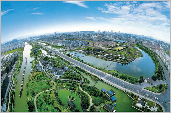Shaoxing, Zhejiang Province, one of the 'top 10 high rises in home prices for March' by China.org.cn.