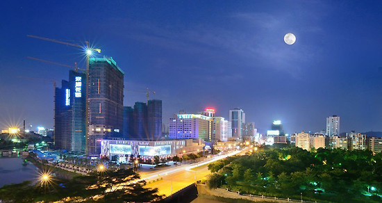 Jiangmen, Guangdong Province, one of the 'top 10 high rises in home prices for March' by China.org.cn.