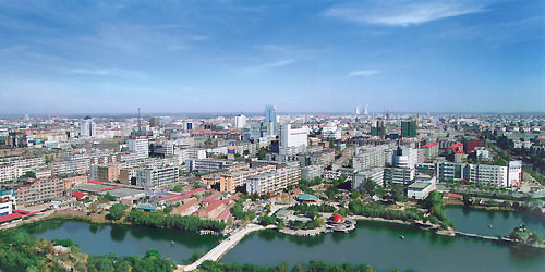 Hengshui, Hebei Province, one of the 'top 10 high rises in home prices for March' by China.org.cn.