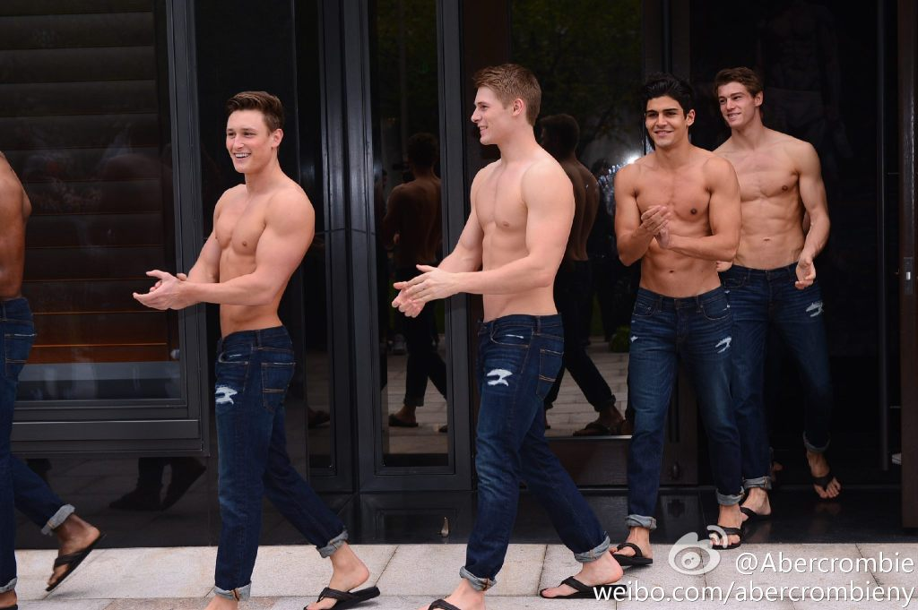 A&F flagship store opens in Shanghai- China.org.cn