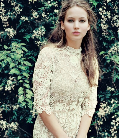 Jennifer Lawrence, one of the 'top 20 sexiest women in the world 2013' by China.org.cn.