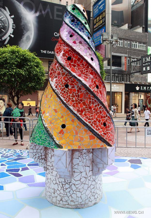 D Exhibition Hk : Gaudi architecture exhibition held in hk china