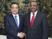 China, Ethiopia pledge to push for new progress in bilateral relations