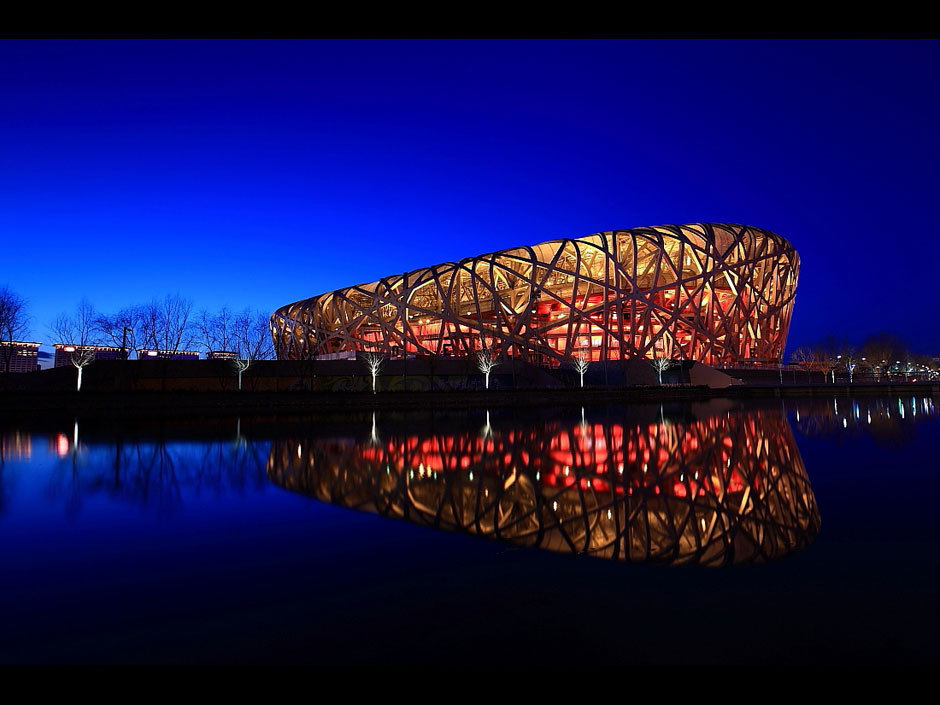 Bird 39 s nest modern architecture marvel in beijing for Nest bird stadium