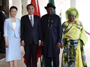 Chinese, Nigerian leaders meet on bilateral ties