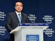 Li addresses 2014 World Economic Forum on Africa