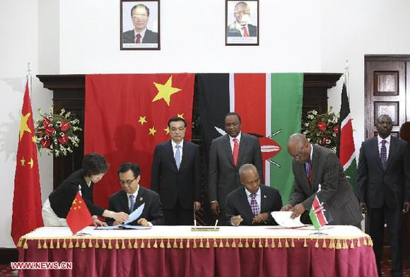 China, Kenya signs deal on East African railway