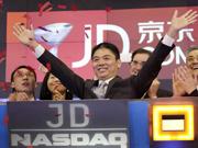 China's JD.com debuts on Nasdaq
