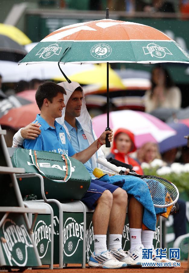 Djokovic Has Some Banter With Ball Boy China Org Cn
