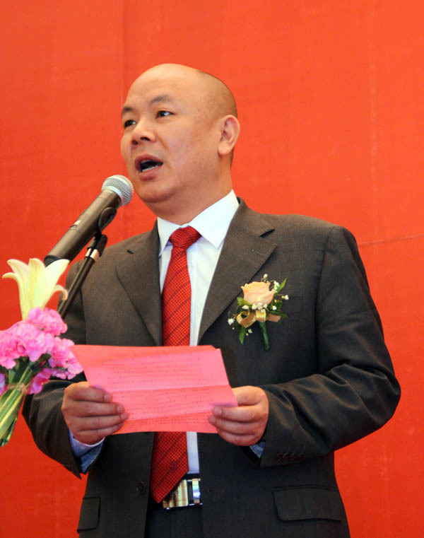 Li Gang, one of the 'Top 10 highest-paid senior managers in real estate' by China.org.cn.