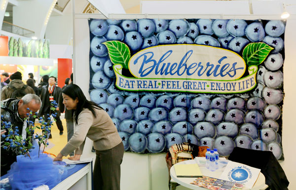 Blueberries to pack a punch