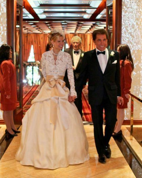 Steve Wynn And Andrea Hissom S Wedding One Of The Top 10 Most Lavish Weddings