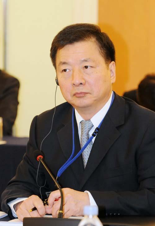 Zhou Mingwei, president of China International Publishing Group (CIPG) [Photo/China.org.cn]