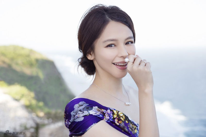Taiwan actress Vivian Hsu holds her wedding ceremony with Sean Lee