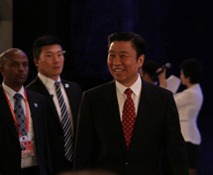 Chinese VP attends opening ceremony of EFG 2014