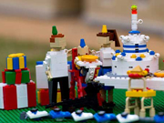 Prince George's 1st birthday party recreated from Legos
