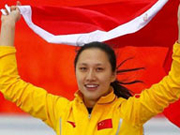 Olympic champ supports Beijing's Winter Games bid