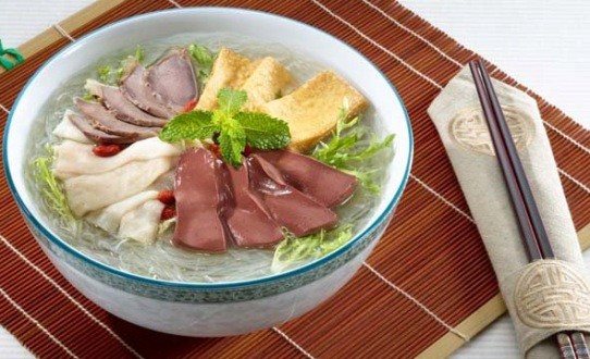 Duck Blood Soup, one of the 'Top 10 foods in Nanjing, China' by China.org.cn.