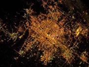 Astronaut tweets amazing photo of nighttime Beijing
