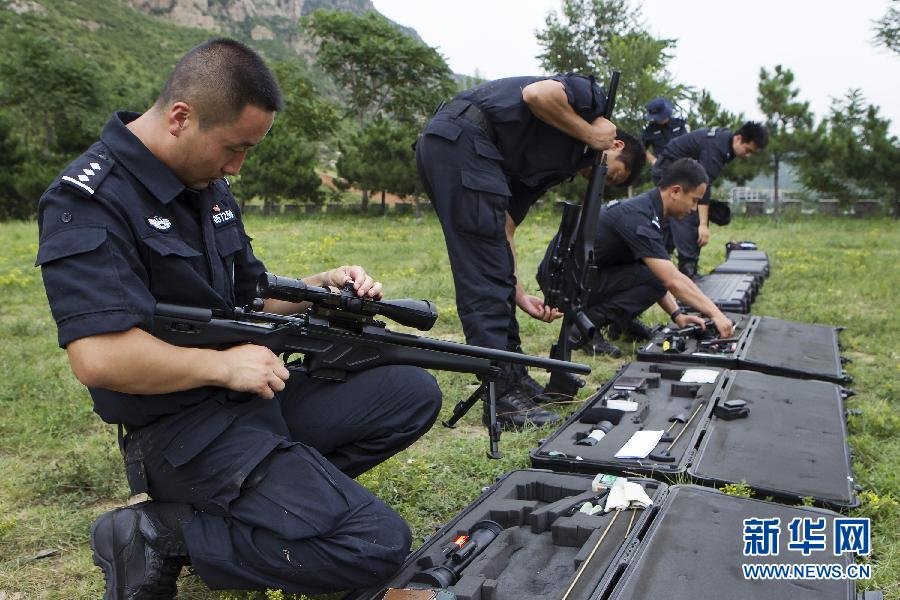 Zhang Hong A Beijing Swat Sniper China