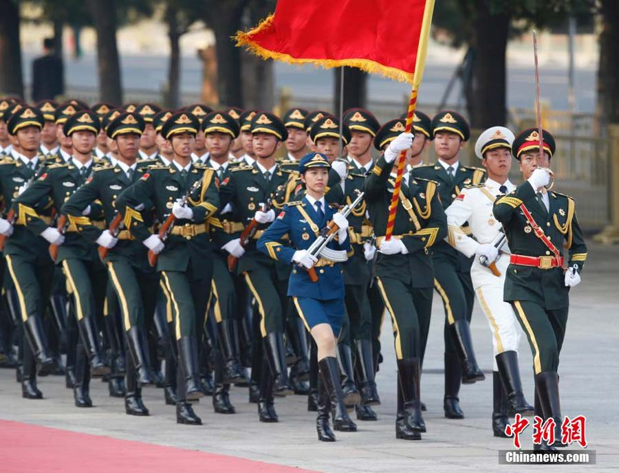 New Army Dress Uniform 2014 a military parade held to