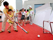 Visitors flock to Olympic Museum, Sports Lab in Nanjing