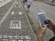 Chongqing designates separate path for cell phone users