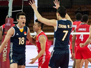 China beat Cuba 3-2 at FIVB Men's World C'ship