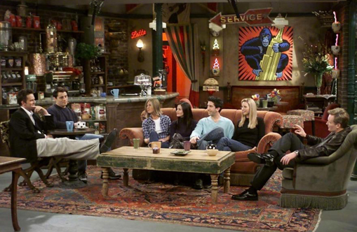 Central Perk shop serves up free coffee