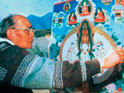 100th anniversary of master Tibetan painter
