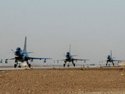 China holds largest scale of air combat drill