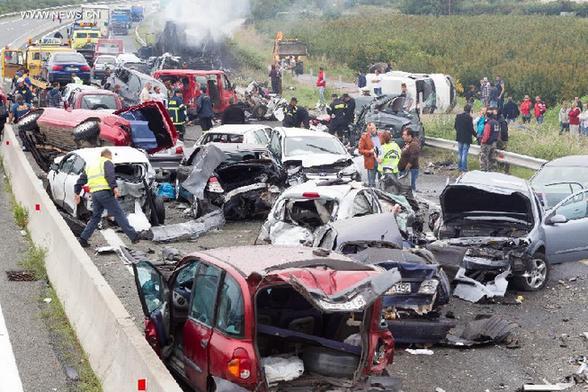 Accident In Michigan  Cars
