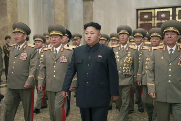 朝鲜最高领导人金正恩 [资料图]-朝劳动党迎建党日 韩媒称金正恩疑似