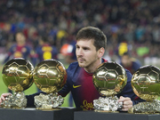 Messi: 4-time world player of the year