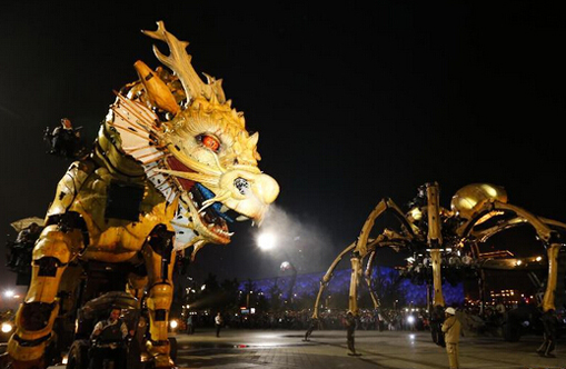 Dragon-horse marks 50 yrs of China-France diplomatic relations