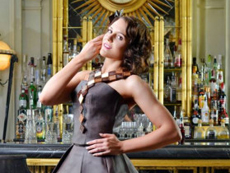 London chocolate show makes fashion statement