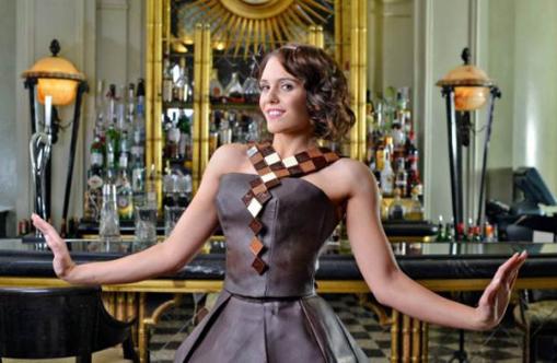 London chocolate show makes fashion statement